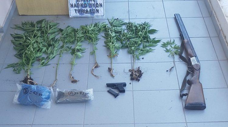Έφοδος της αστυνομίας σε σπίτι Τρικαλινού - Βρέθηκαν όπλα και ναρκωτικά