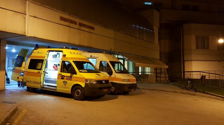 Αστυνομικός στα Τρίκαλα παρασύρθηκε από αυτοκίνητο