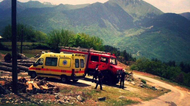 50χρονος κτηνοτρόφος στη Δέση Τρικάλων έχασε τη ζωή του πέφτοντας σε χαράδρα